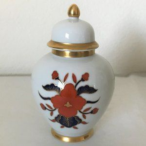 Fitz & Floyd Empress small ginger jar with lid